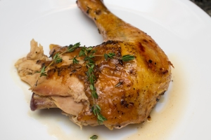 Maple Thyme Roast Chicken