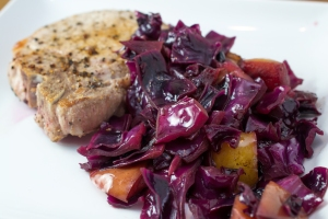 Sweet and Sour Red Cabbage