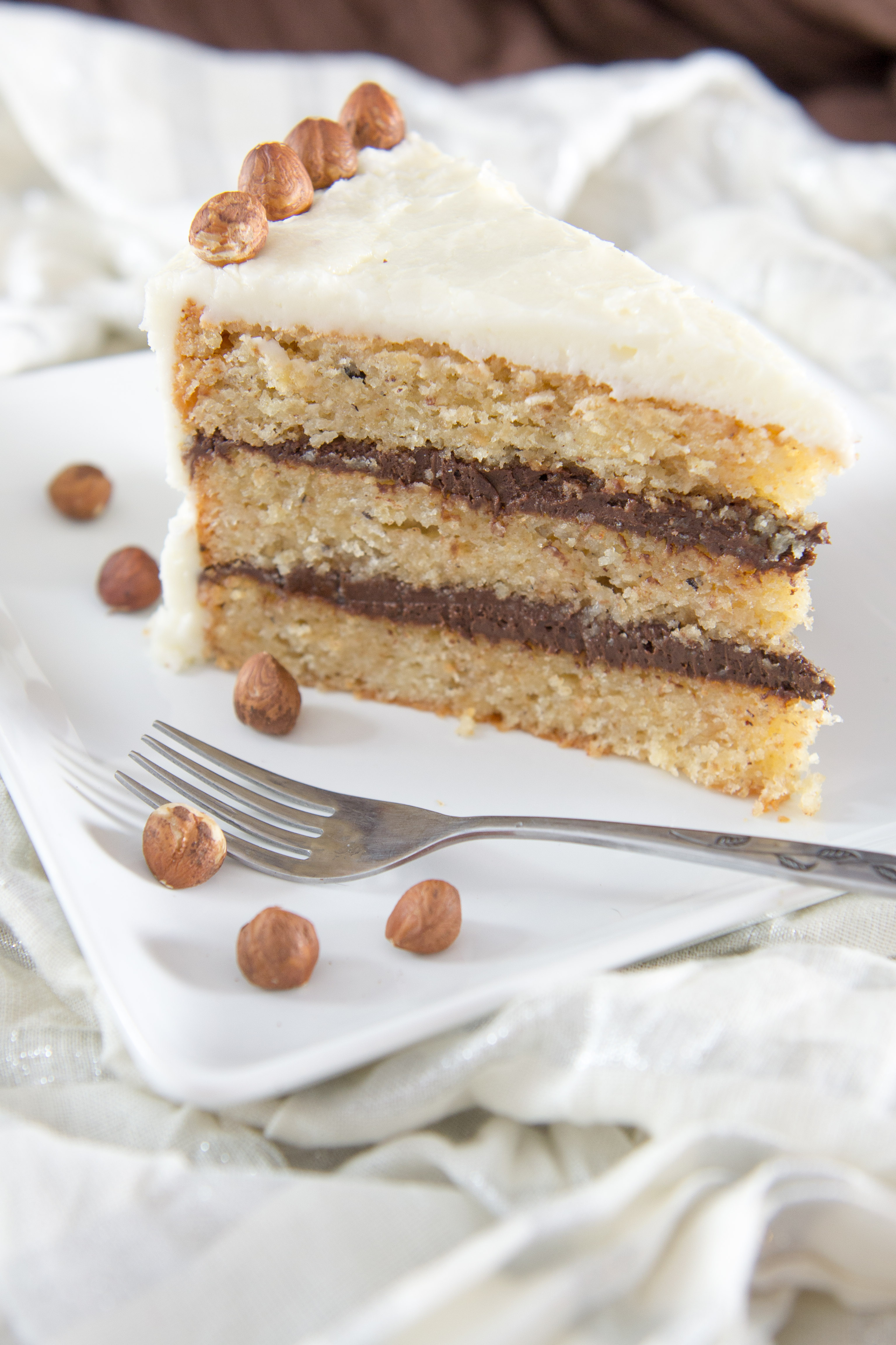 Hazelnut Brown Butter Cake | Rachel's blog
