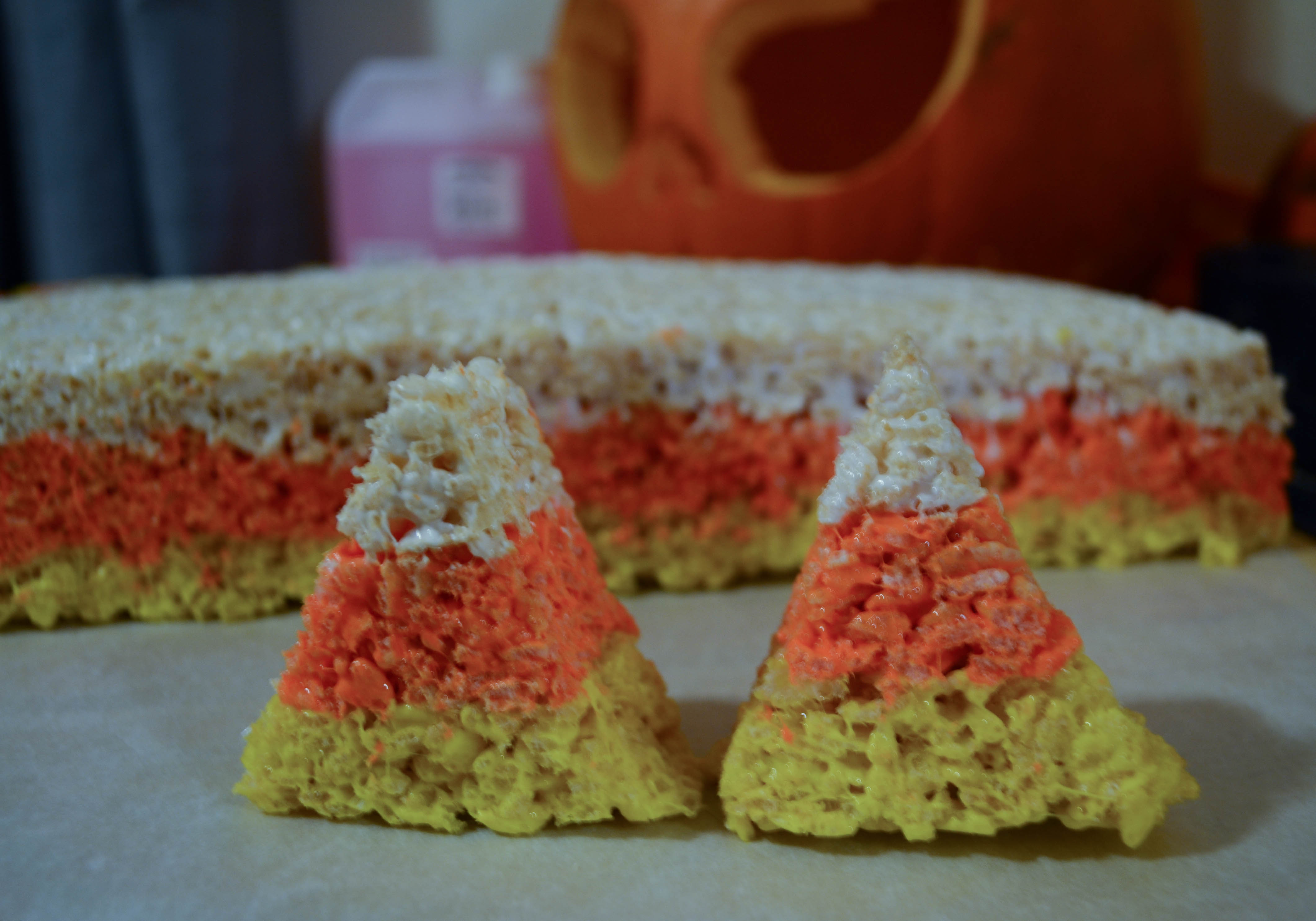 Candy Corn Stacked