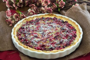 Brown Sugar Cranberry Tart
